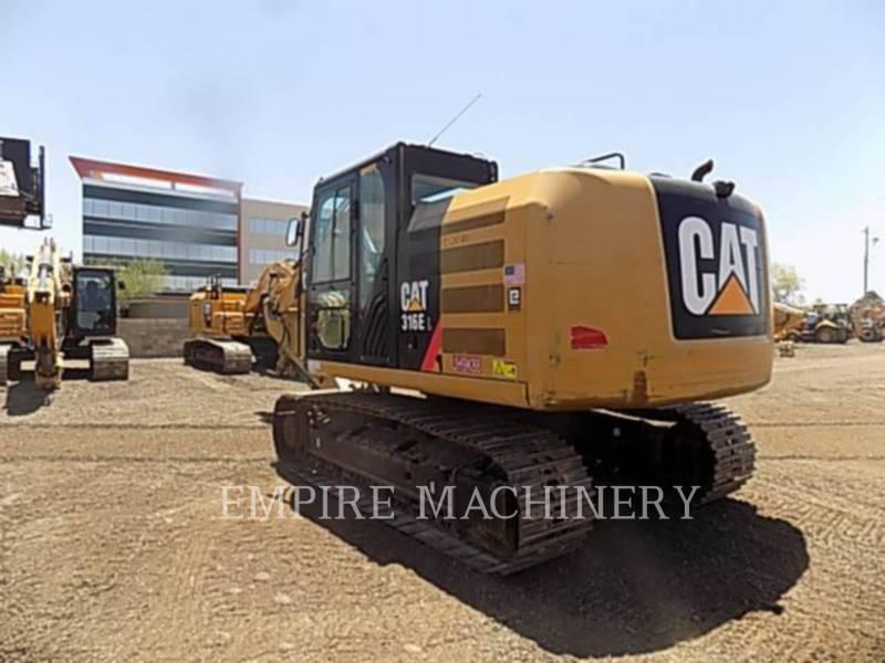 CATERPILLAR TRACK EXCAVATORS 316EL equipment  photo 3