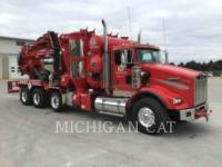 Equipment photo KENWORTH T800 VAC TRUCK  CAMIONS ROUTIERS 1