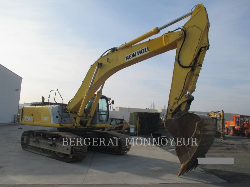 NEW HOLLAND KETTEN-HYDRAULIKBAGGER E485 equipment  photo 4