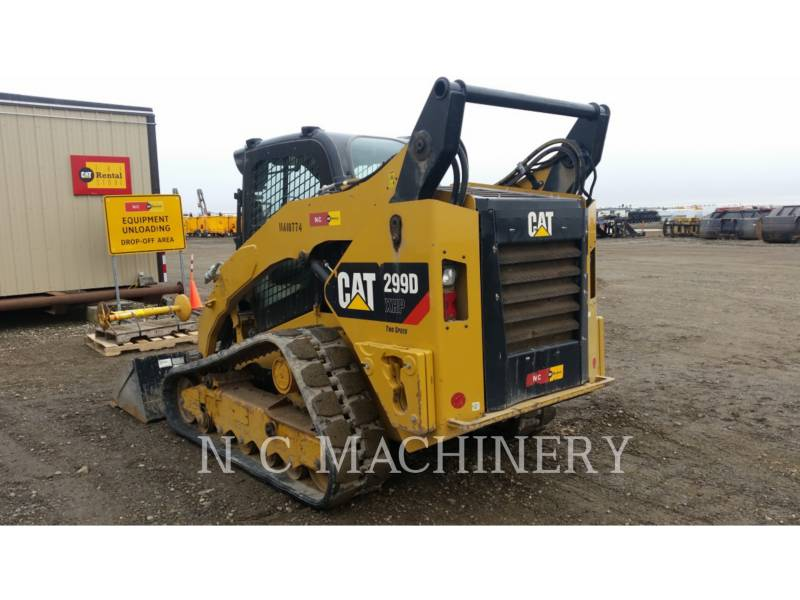 CATERPILLAR SKID STEER LOADERS 299D XHPCB equipment  photo 3