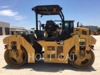 Equipment photo CATERPILLAR CB44B TANDEMOWY WALEC WIBRACYJNY DO ASFALTU (STAL-STAL) 1