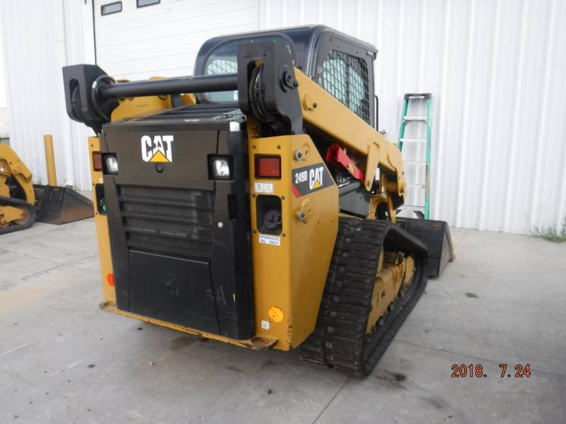 CATERPILLAR MULTI TERRAIN LOADERS 249 D equipment  photo 4