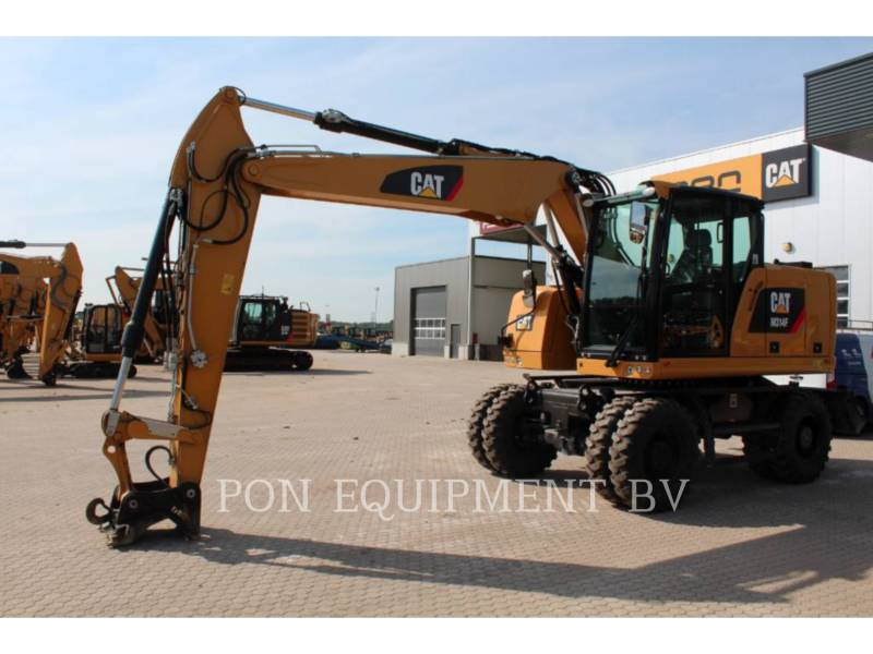 CATERPILLAR ESCAVADEIRAS DE RODAS M 314 F equipment  photo 1
