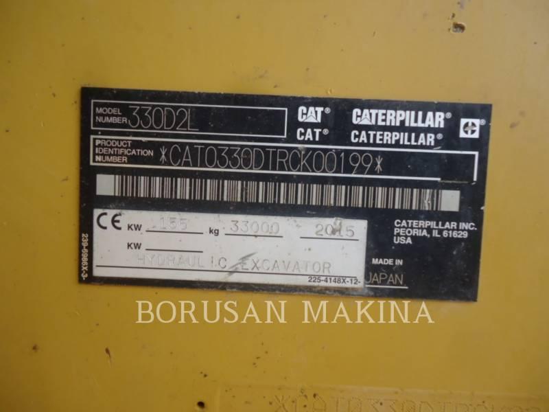CATERPILLAR KOPARKI GĄSIENICOWE 330D2L equipment  photo 10