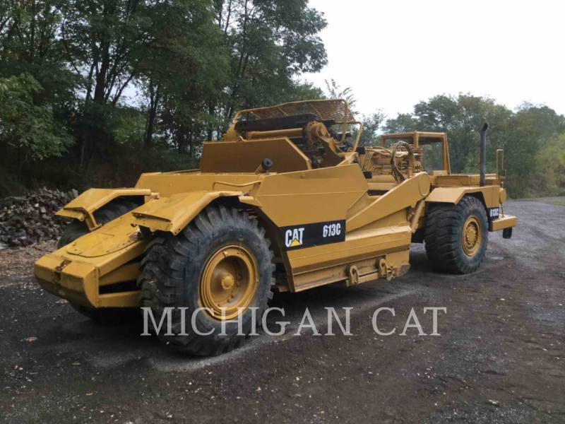 CATERPILLAR WHEEL TRACTOR SCRAPERS 613C equipment  photo 3