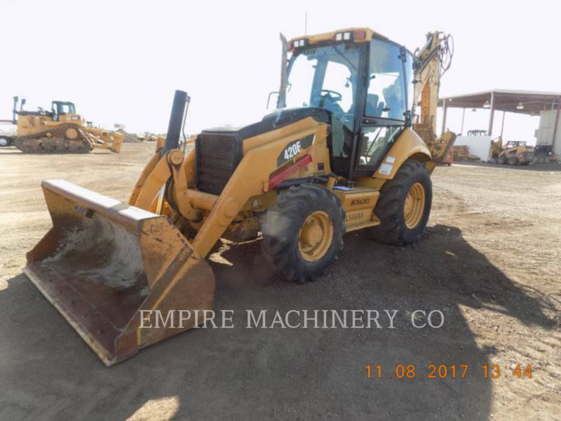 CATERPILLAR バックホーローダ 420E 4EC equipment  photo 1
