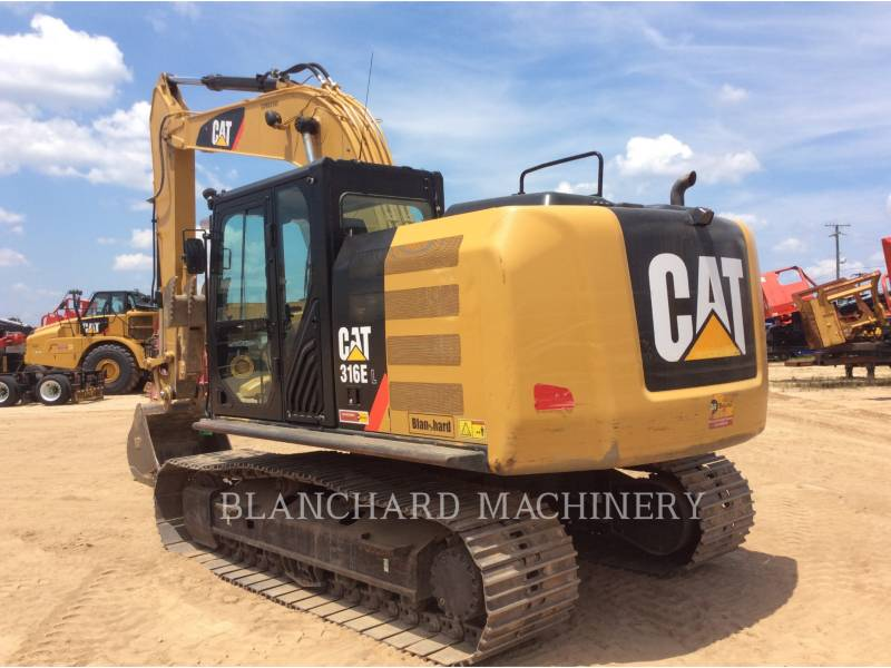 CATERPILLAR PELLES SUR CHAINES 316E equipment  photo 3