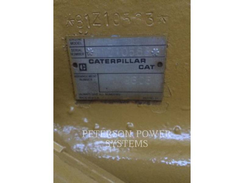 CATERPILLAR 固定式発電装置 3412 equipment  photo 4