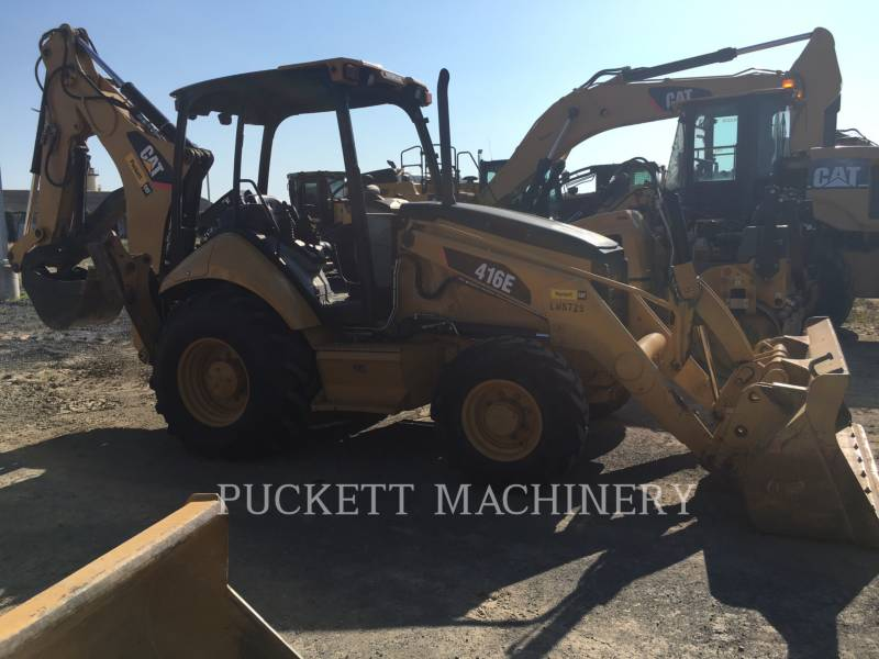 CATERPILLAR RETROESCAVADEIRAS 416E 4 equipment  photo 3