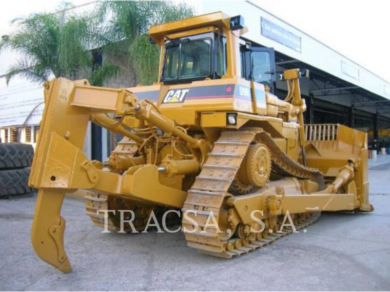 CATERPILLAR TRACK TYPE TRACTORS D9R equipment  photo 3