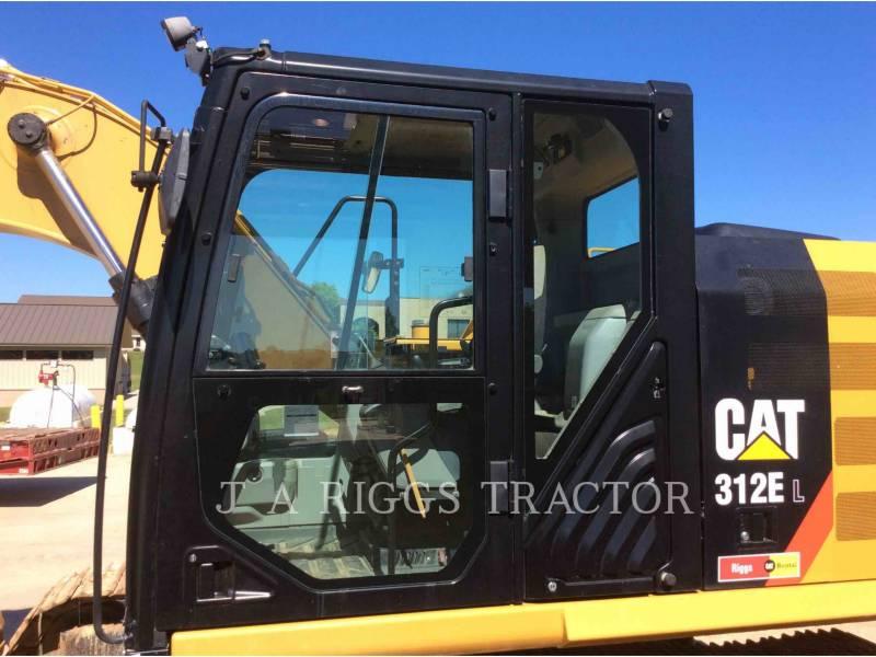 CATERPILLAR TRACK EXCAVATORS 312E 9 equipment  photo 14