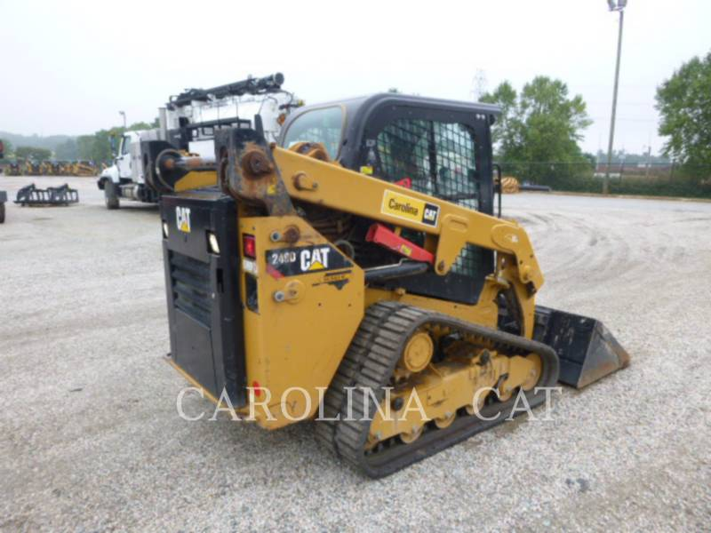 CATERPILLAR CARGADORES DE CADENAS 249D equipment  photo 3