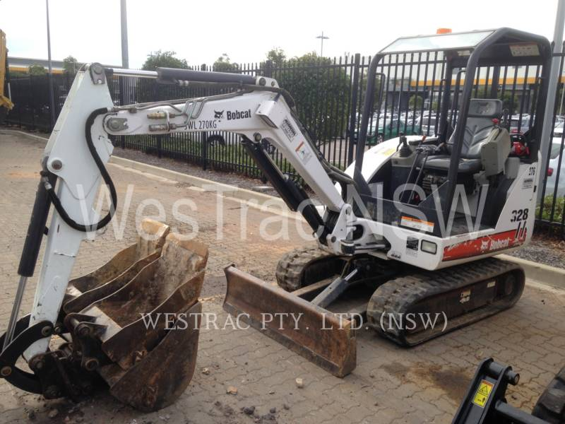 BOBCAT KETTEN-HYDRAULIKBAGGER 328 equipment  photo 1