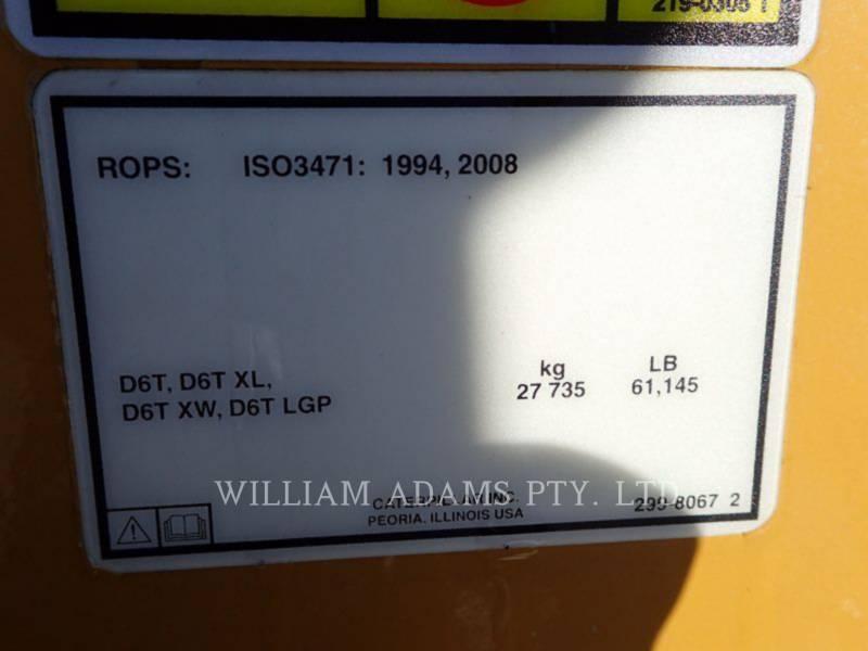 CATERPILLAR TRACK TYPE TRACTORS D6T LGP equipment  photo 23