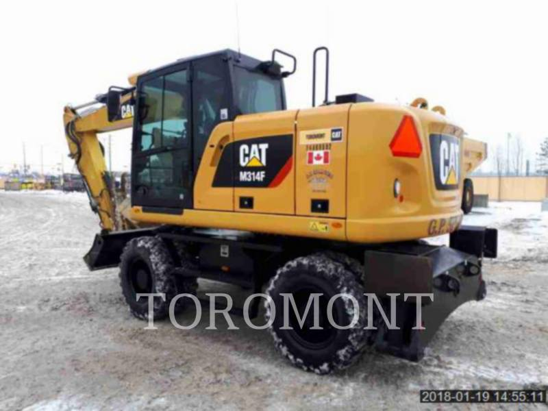 CATERPILLAR PELLES SUR CHAINES M314F equipment  photo 3