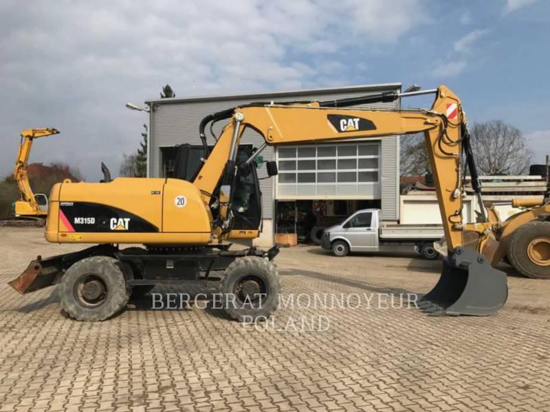 CATERPILLAR WHEEL EXCAVATORS M315D equipment  photo 4