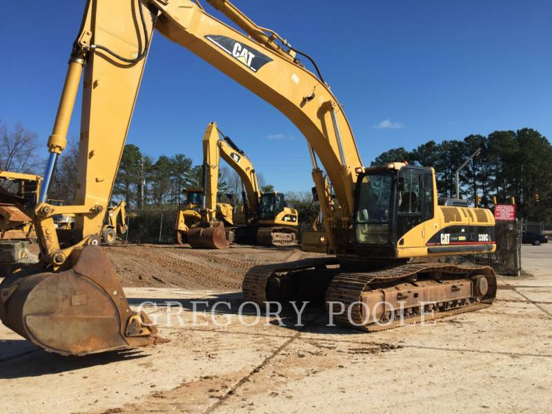 CATERPILLAR TRACK EXCAVATORS 330C L equipment  photo 1