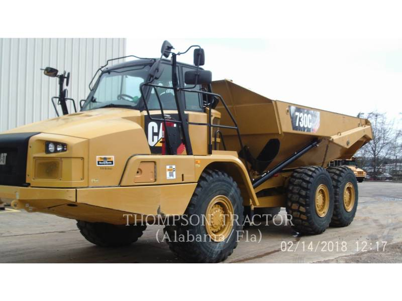CATERPILLAR DUMPER A TELAIO RIGIDO 730C equipment  photo 4