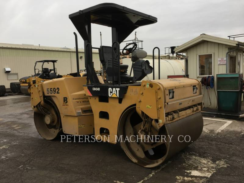 CATERPILLAR COMPACTORS CB-434D equipment  photo 2