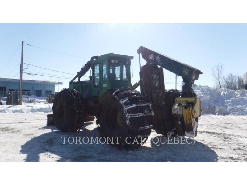 TIMBERJACK INC. FORESTRY - SKIDDER 560D equipment  photo 4