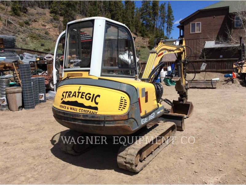 GEHL COMPANY TRACK EXCAVATORS G3602 equipment  photo 3
