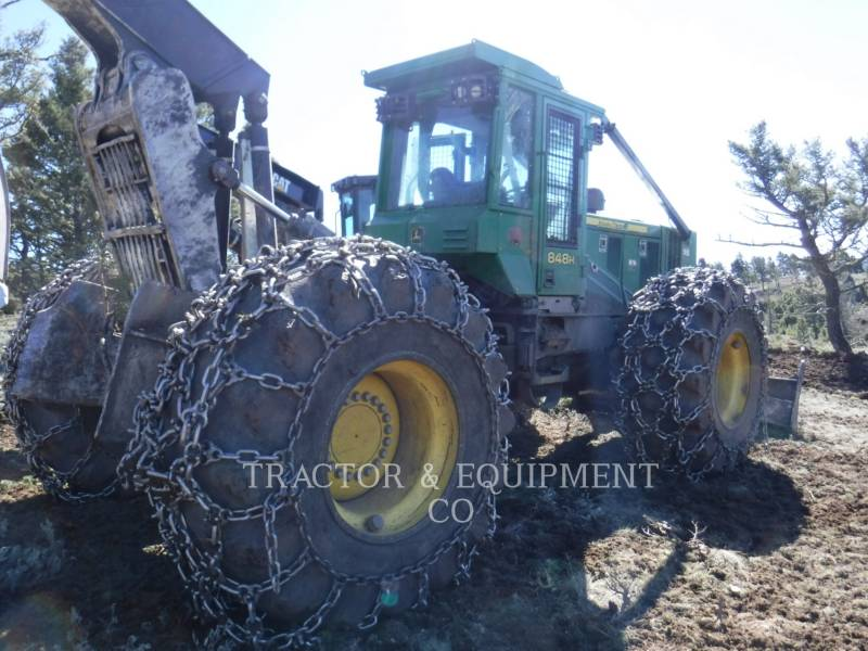 JOHN DEERE MAŞINĂ FORESTIERĂ 848H equipment  photo 1