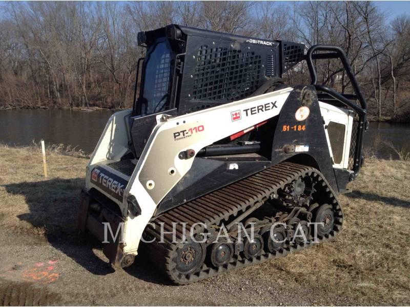 TEREX CORPORATION CARGADORES MULTITERRENO PT110 equipment  photo 1