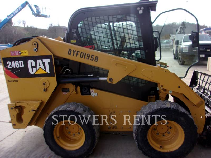 CATERPILLAR SKID STEER LOADERS 246D CAB equipment  photo 1