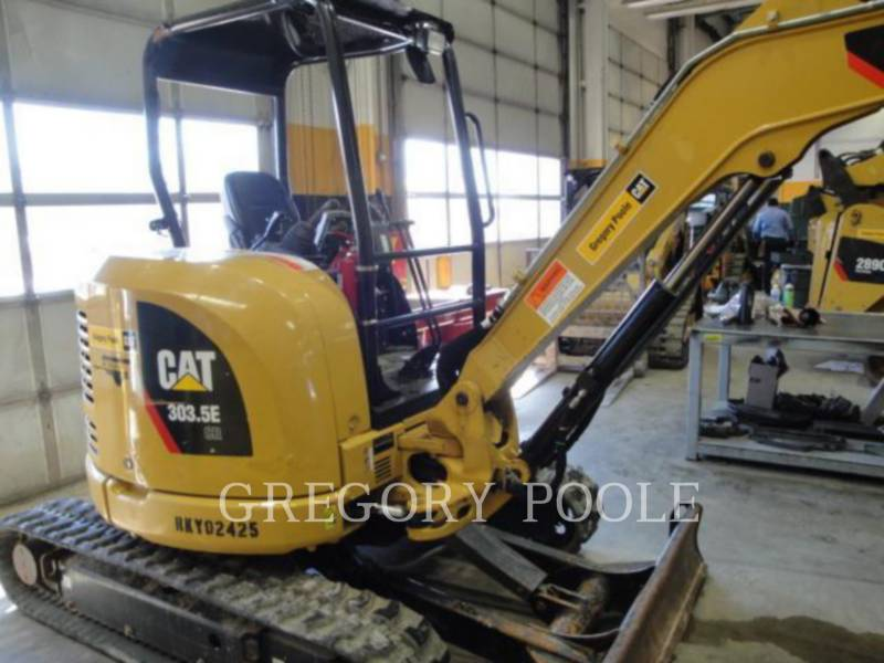 CATERPILLAR PELLES SUR CHAINES 303.5E equipment  photo 2