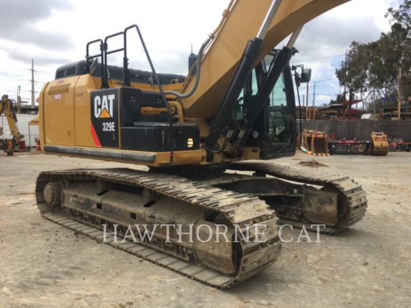 CATERPILLAR TRACK EXCAVATORS 329E equipment  photo 1