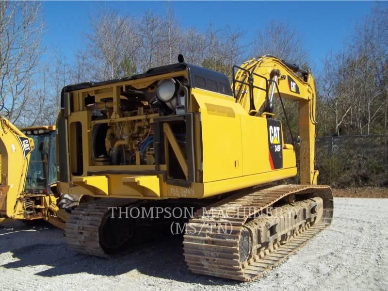 CATERPILLAR TRACK EXCAVATORS 349F equipment  photo 3