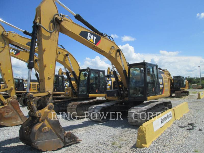 CATERPILLAR KETTEN-HYDRAULIKBAGGER 320ELLONG equipment  photo 1