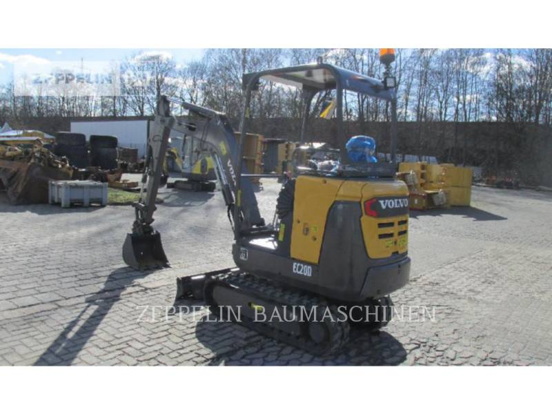VOLVO CONSTRUCTION EQUIPMENT TRACK EXCAVATORS EC20 equipment  photo 4