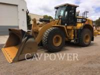 Equipment photo Caterpillar 966K ÎNCĂRCĂTOARE PE ROŢI/PORTSCULE INTEGRATE 1