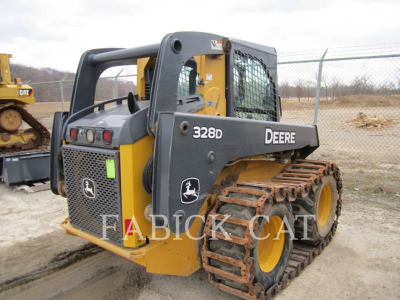 DEERE & CO. SKID STEER LOADERS 328E equipment  photo 2