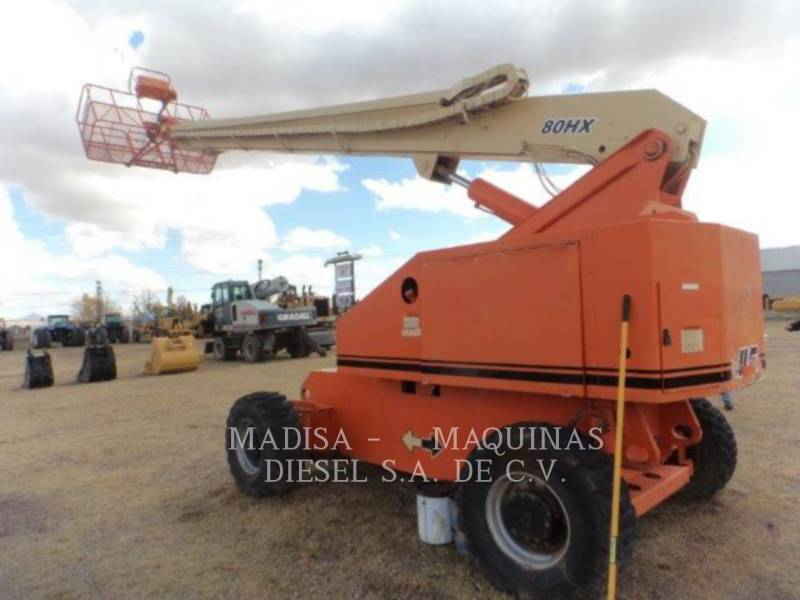 JLG INDUSTRIES, INC. LIFT - BOOM 80-HX equipment  photo 2