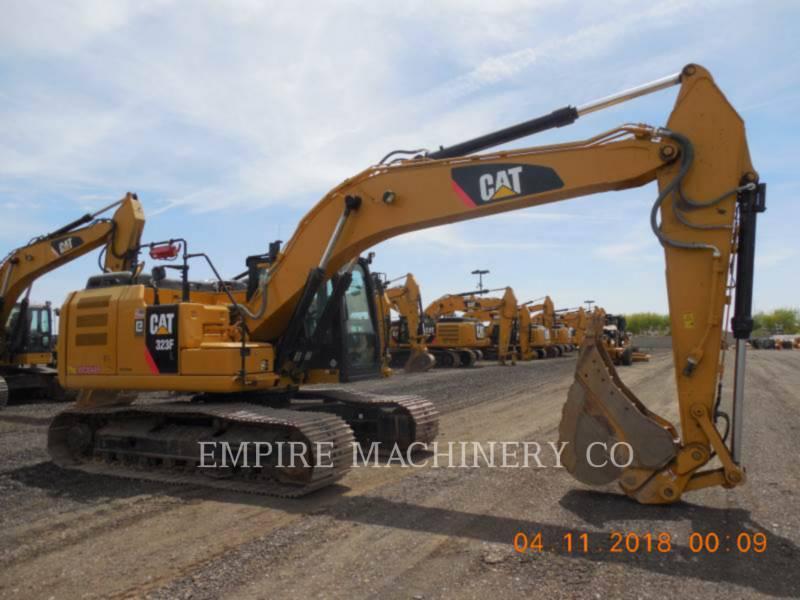 CATERPILLAR トラック油圧ショベル 323FL    P equipment  photo 1