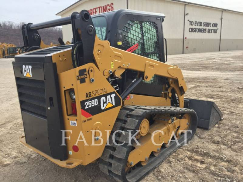 CATERPILLAR CARGADORES MULTITERRENO 259D CSP equipment  photo 4