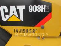 CATERPILLAR WHEEL LOADERS/INTEGRATED TOOLCARRIERS 908H2 equipment  photo 6