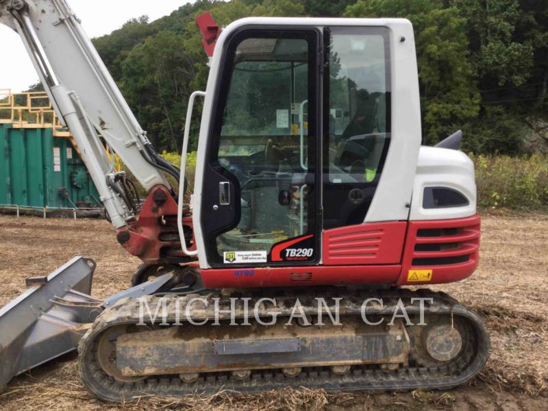 TAKEUCHI MFG. CO. LTD. PELLES SUR CHAINES TB290 equipment  photo 14