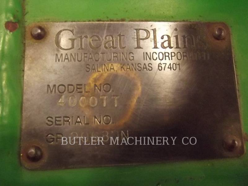GREAT PLAINS AG TILLAGE EQUIPMENT 4000TT equipment  photo 7