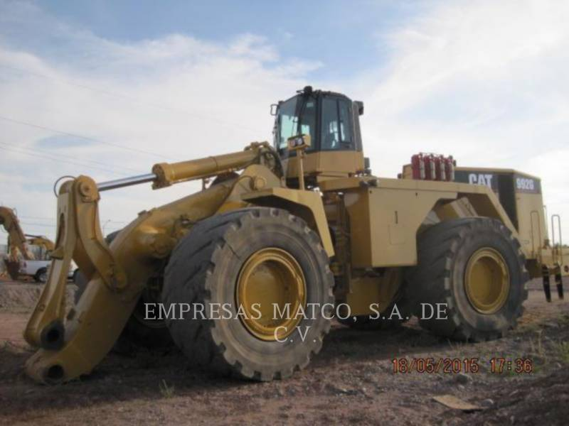 CATERPILLAR MINING WHEEL LOADER 992G equipment  photo 6