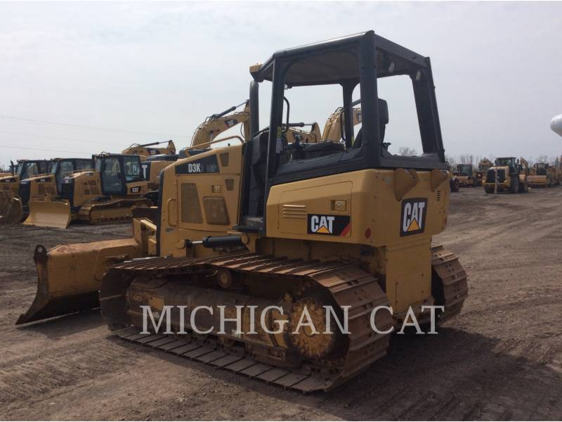 CATERPILLAR TRACK TYPE TRACTORS D3K2L equipment  photo 3