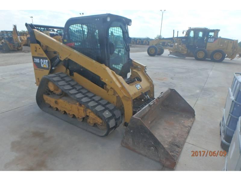 CATERPILLAR PALE CINGOLATE MULTI TERRAIN 299D equipment  photo 1