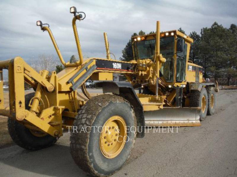 CATERPILLAR MOTORGRADER 160H equipment  photo 1