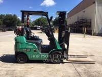 Equipment photo MITSUBISHI CATERPILLAR FORKLIFT FG15N ВИЛОЧНЫЕ ПОГРУЗЧИКИ 1