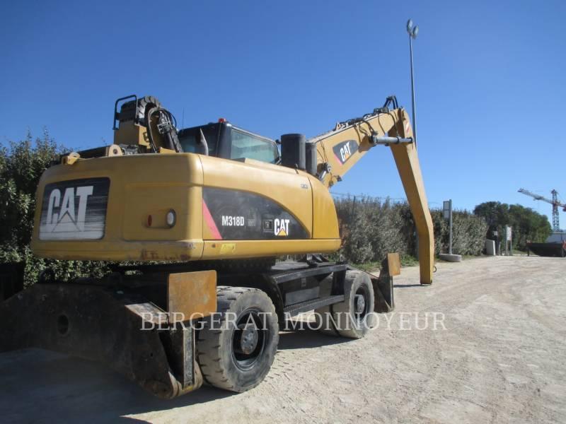 CATERPILLAR ESCAVATORI GOMMATI M318D MH equipment  photo 14