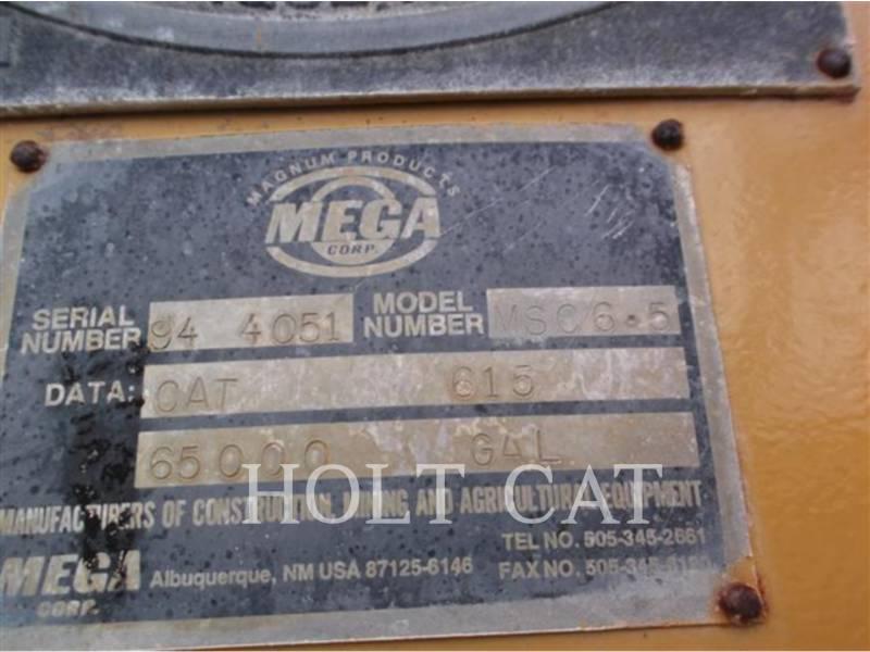 CATERPILLAR MOTOESCREPAS 615 equipment  photo 6