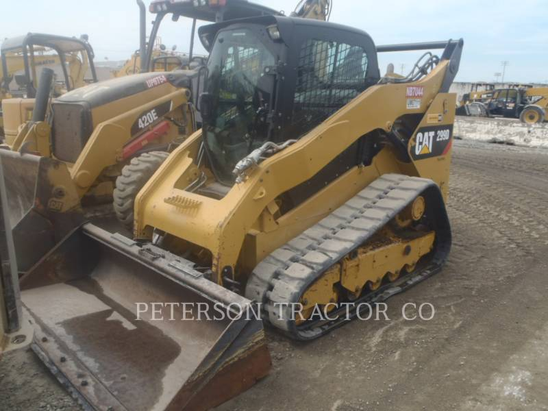 CATERPILLAR MINICARGADORAS 299D equipment  photo 1