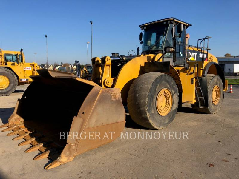 CATERPILLAR MINING WHEEL LOADER 980K equipment  photo 12